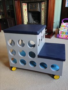 Captains Bed, Looks Cool, Toy Chest, Storage Chest, Stool, Cabin, Cool Stuff, Home Decor, Decoration Home