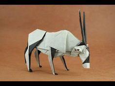 How to make a Paper Antelope Origami / Как сделать Антилопа из Бумаги Оригами - YouTube