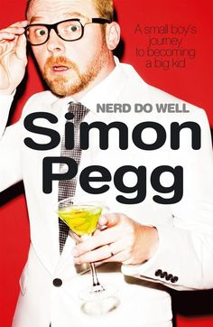 Simon Pegg wrote a book?! I need it.