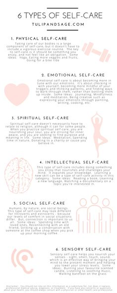 Did you know that there are different types of self-care? Wonder which one you're needing more of? Learning about each type can help you better understand you and your needs. Click through for 6 different types and some ideas for practicing each one. Mental Training, Self Care Activities, Mindfulness Activities, Mindfulness Quotes, Care Quotes, Quotes About Self Care, Self Care Routine, Beauty Routine Schedule, Body Fitness