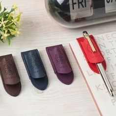 Learn more about the Classic Leather Pen Holder!