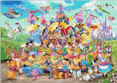 disney carnival Counted Cross Stitch disney carnival Pattern דפוס תפר צלב вышивки крестом クロスステッチ - x - Ravensburger Puzzle, Walt Disney, Disney Pixar, Disney Fun, Disney Cartoons, Disney Animation, Disney Magic, Disney Cross Stitch Patterns, Counted Cross Stitch Patterns