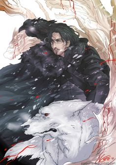 Jon Snow by Emorenji