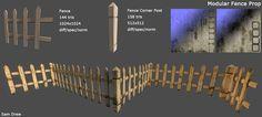 Modular Fence Prop by samdrewpictures on deviantART