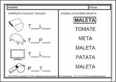 Resultado de imagen para guia de la consonante t
