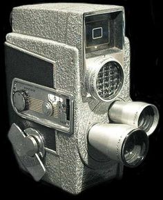 VINTAGE REVERE 8mm Movie Camera MODEL CA-4