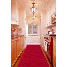 Hued Hallway 15 Reasons Why You Need A Persian Rug In Your Kitchen Photos