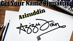 Get Your Own Name Signature For Free Just Watch Out This Video And Follow The Rules Given Below First You Need To Watch Our Video Completely. 1- Subscribe our channel now…  More Name Signature, Fun Crafts, Paper Crafts, Oil Pastels, You Got This, Channel, Names, Watch, Videos