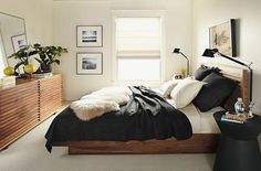 Splendid bedroom furniture placement You are in the right place about mirrored bedroom furniture Here we offer you the most beautiful pictures about the bedroom furniture ar Scandi Bedroom, Home Decor Bedroom, Diy Home Decor, Bedroom Ideas, Bedroom Colors, Ikea Bedroom, Blue Bedroom, Design Bedroom, Wall Design