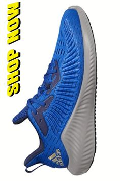 Running Shoes For Men - adidas Alphabounce + Shoe - Men's Running. adidasA Men'sA Alpha bounce+ Trainers Features: * Forged and engineered mesh provides flexibility, breathability, and support * Injected Bounce+ midsole creates the ideal balance between cushioning and durability * Bounce+ midsole generates multi-directional energy for any movement * TPU outsole reduces weight without removing traction in wet and dry conditions Adidas Running Shoes, Best Running Shoes, Adidas Shoes, Adidas Men, Sneakers Nike, Alpha Bounce, Wet And Dry, Things That Bounce, Flexibility