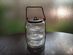 段重菓子鉢 General Goods, Antique Glass, Glass Vase, Pottery, Ceramics, Glasses, Antiques, Tableware, Interior