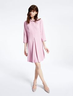 Weekend Max Mara MURIEL lilac: Viscose sablé tunic Product page