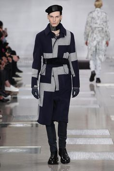 A look from the Louis Vuitton Fall-Winter 2016 Fashion Show