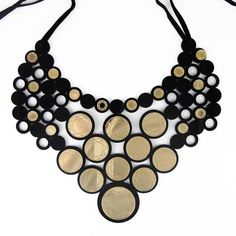 The Mitford gold diamond bib necklace, Jennifer Loiselle, Boticca, Art Deco Necklace, Art Deco Jewelry, Unique Jewelry, Jewelry Shop, Multi Layer Necklace, Layered Necklace, Art Deco Diamond, Diamond Jewelry, Collar Necklace