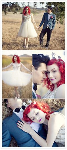 Prettiest Retro Bride ever!