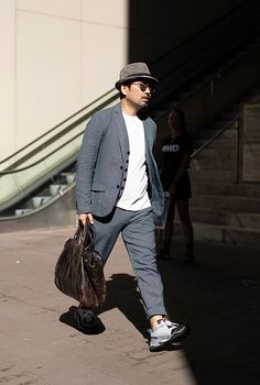 6db2608e5fe2 The best street style looks from Men s New York Fashion Week  Day one