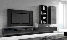 Modern Tv Unit Designs, Modern Tv Units, Living Room Tv Unit Designs, Built In Shelves Living Room, Couple Room, Muebles Living, Tv Wall Decor, Tv Wall Design, Bedroom Furniture Design