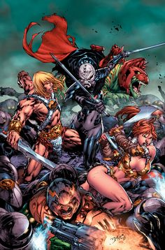 Masters of the Universe - Ed Benes