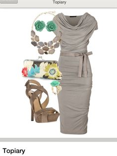 Topiary. Chic Garden party outfit from amelieamelie-1 on Polyvore