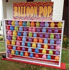 vintage balloon pop carnival booth - Google Search | Auntie Awesome | Pinterest | Carnival games, Search and Wedding