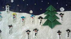 Askartelun riemua kotona ja koulussa: Lumiukot