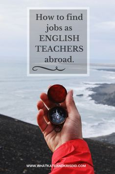 Websites and other places we use to find good English teaching jobs. #Englishteacher #celta #tesol
