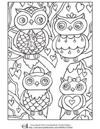 Coloring Pages for Kids - Free Printables Owl Coloring Pages, Cat Coloring Page, Free Printable Coloring Pages, Coloring Sheets, Coloring Books, Free Adult Coloring, Coloring Pages For Kids, Color Me Mine, Classroom Art Projects