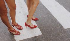 •Red Shoes• www.cameliashoes.com