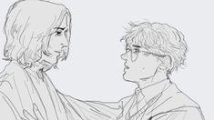 Harry Potter Severus Snape, Harry Potter Art, Fanart, Draw, Books, Harry Potter Stickers, To Draw, Livros, Book