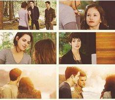 Jacob And Renesmee, Twilight Renesmee, Twilight New Moon, Twilight Series, Stephanie Meyers, Breaking Dawn, Midnight Sun, Disney Fan Art, Vampire Diaries