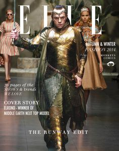 Meanwhile in Mirkwood... Thranduil: It should have been me on that cover!!!