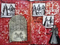 Time art journal page