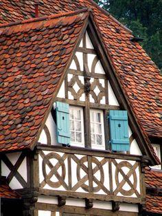 Half-timbered house, Maulbronn Monastery complex~Germany