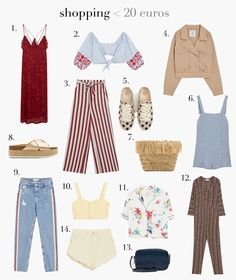 SHOPPING SALES: PRENDAS POR MENOS DE 20 EUROS. #atrendylife #shopping #rebajas #sales #verano2018 #fashion #modamujer #blogmoda #inspiracion Sales, Blog, How To Wear, Life, Fashion, Shopping, Gifs, Feminine Fashion, Moda