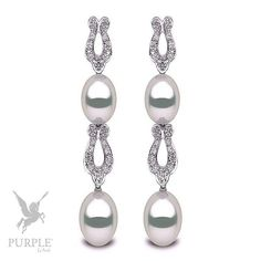 Another perfect addition to your style! Discover this 12-13m South Sea pearls with 1.60cts diamonds in 18k white gold by @yokolondonpearls #purplebyanki #diamonds #luxury #loveit #jewelry #jewelrygram #jewelrydesigner #love #jewelrydesign #finejewelry #luxurylifestyle #instagood #follow #instadaily #lovely #me #beautiful #loveofmylife #dubai #dubaifashion #dubailife #mydubai #Earrings #Pearls