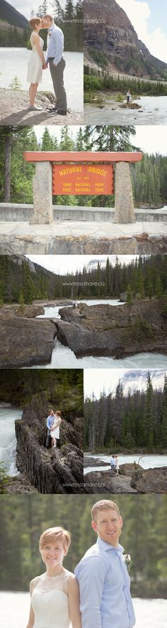 Let's elope to the mountains - Yoho National Park British Columbia wedding photographer www.tessamarie.ca