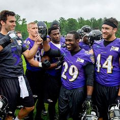@jforsett was a leader at last week's #minicamp. This week he shared life lessons at the NFL Rookie Symposium. (Read Forsett's blog in the #Ravens app.) #PlayLikeARaven #RavensNation