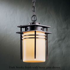 Hubbardton Forge 36-5796 Double Banded Outdoor Semi-Flush Light - hub-36-5796