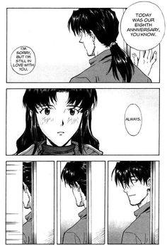 Manga Neon Genesis Evangelion, Misato Katsuragi x Ryōji Kaji Anime Art Books, Anime Artwork, Neon Genesis Evangelion, Manga Art, Manga Anime, Dark Anime Guys, Comic Panels, Manga Pictures, Comic Artist