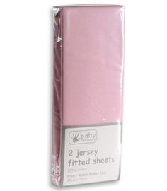 Jersey fitted sheets