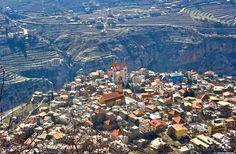 The amazing Bcharre بشري الرائعة By Joe Rahme  #Lebanon #WeAreLebanon
