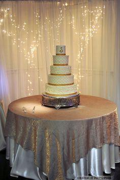 wedding entryway & wall fabric - pipe & drape rental - 8103