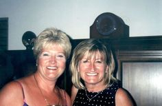 Photo: What about Shirley Lowe (pictured on right) from the UK?  She used to have the Tigh-Na-Mara Villa located across from The Oualie Beach Resort - #Nevis, West Indies.  Not sure who the woman on the left is.  I think this photo is also from about 1999?