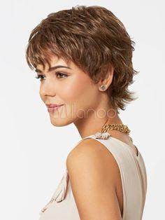 coupe cheveux court femme visage carré Coupe, Short hair
