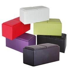 Wilkinson  Wilkinson Otto Storage Ottoman, Choose Colour