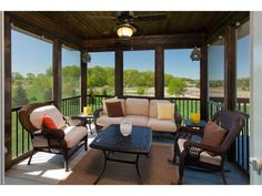 Photo of home for sale at 8653 Whisper Creek Trail, Greenfield MN Screened Porch Designs, 4 Season Room, Mls Listings, Keller Williams Realty, Outdoor Furniture Sets, Outdoor Decor, Porch Ideas, Whisper, Property For Sale