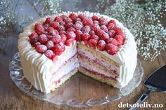 Frisk, Raspberry, Cake Decorating, Sweet Treats, Cheesecake, Desserts, Cakes, Food, Pictures