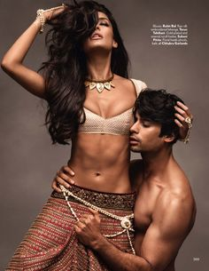 Vogue India November 2014   Lisa Haydon, Dayana Erappa + More by Tarun Vishwa [Editorial]