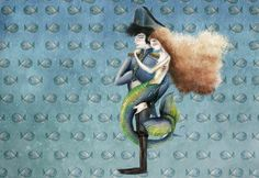La sirena y el coronel. By Begoña Fumero