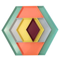 A+R Store - Kaleido Trays - Product Detail 219 Home Office Organization, Home Office Decor, Home Decor, Shops, Living Essentials, Small Space Living, Place Settings, Geometric Shapes, Cube